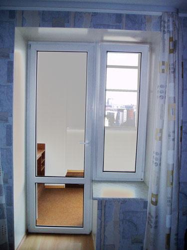 пластиковые окна на лоджиях